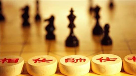 嘉峪关·2017中俄国际象棋大师巅峰赛24日出现有趣一幕:中国国际象棋图片