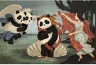当熊猫遇上世界名画