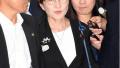 正式离开防卫省 日本防相稻田朋美31日上午举办离任仪式