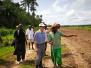 驻几内亚比绍大使金红军考察卡莱基塞农业项目