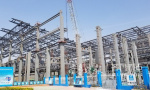 济南西部会展中心五展馆即将封顶,明年5月达竣工标准