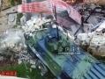 俄罗斯反恐用机炮扫射