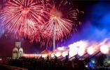 【组图】俄罗斯迎来胜利日 烟火表演点亮莫斯科夜空