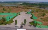 黄河北万亩花海栽植完成95% 明年1月市民可踏雪寻梅