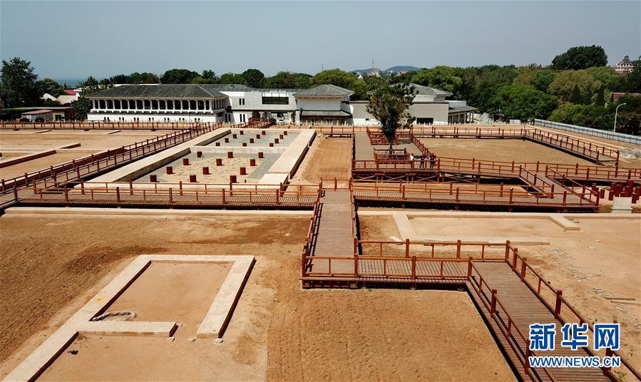 (文化)(2)北戴河秦行宫遗址保护与展示设施工程主体完工
