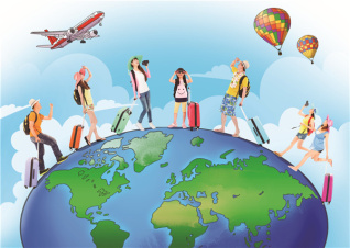 Students go further, spending more on graduation trips