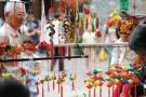 端午香袋一年销量超百万个 杭州街头看传统习俗之回归
