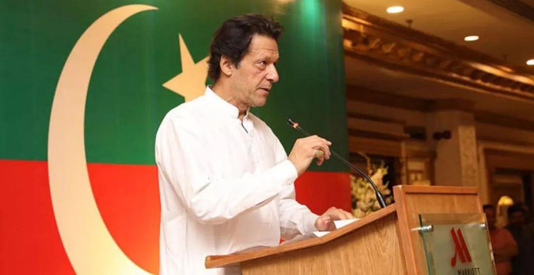 ▲巴基斯坦當選總理伊姆蘭·汗