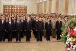 朝鲜国庆70周年 金正恩赴太阳宫悼念先祖瞻仰遗容