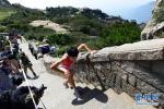 中秋假期首日探访山东重点景区 网红济南不拥挤泰山老年客增多