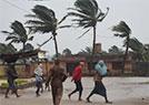 强热带风暴登陆印度