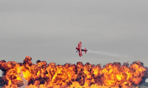 休斯敦航空展开幕