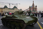 俄阅兵纪念十月革命