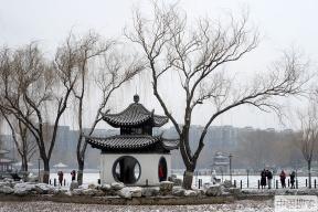 好嗨哟!北京又双叒降雪啦~
