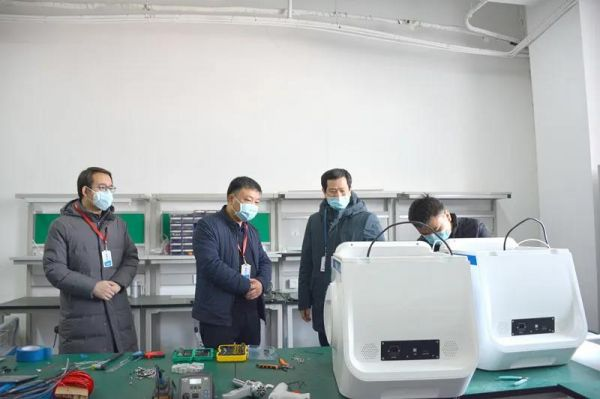 西安高新食药监分局助力点云生物医用口罩生产7