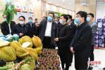 鹤壁市委书记马富国调研国家食品安全示范城市创建工作