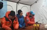 今天凌晨,珠峰高程测量登山队开始冲顶!