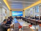 文化迎省运,泰州金融系统举办书法美术笔会