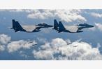 空军发布宣传片:展现多型战机海上新航迹