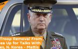 美防长:如果朝韩和平协议有需要,美将探讨从朝鲜半岛撤军